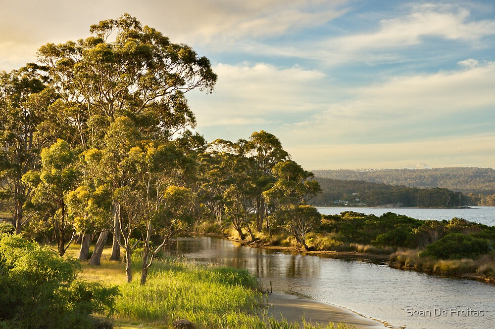 Captain Cook Creek, Bruny Island by PC1134