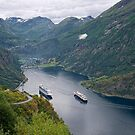 The Beautiful Geirangerfjord by Lucinda Walter
