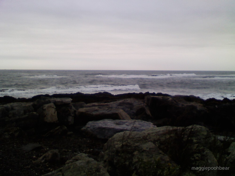 Rye Beach, NH by maggiepoohbear