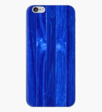 Wooden Shims Blue iPhone Case