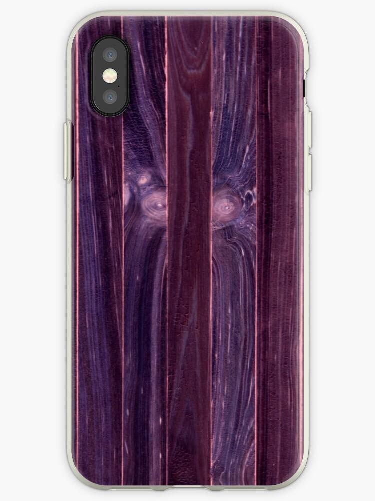 Purple Wooden Shim by yonni