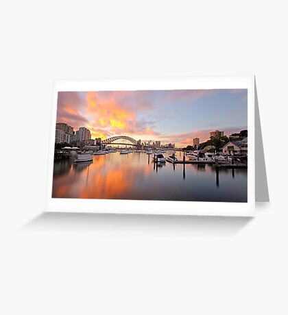 Bay of Fire Greeting Card