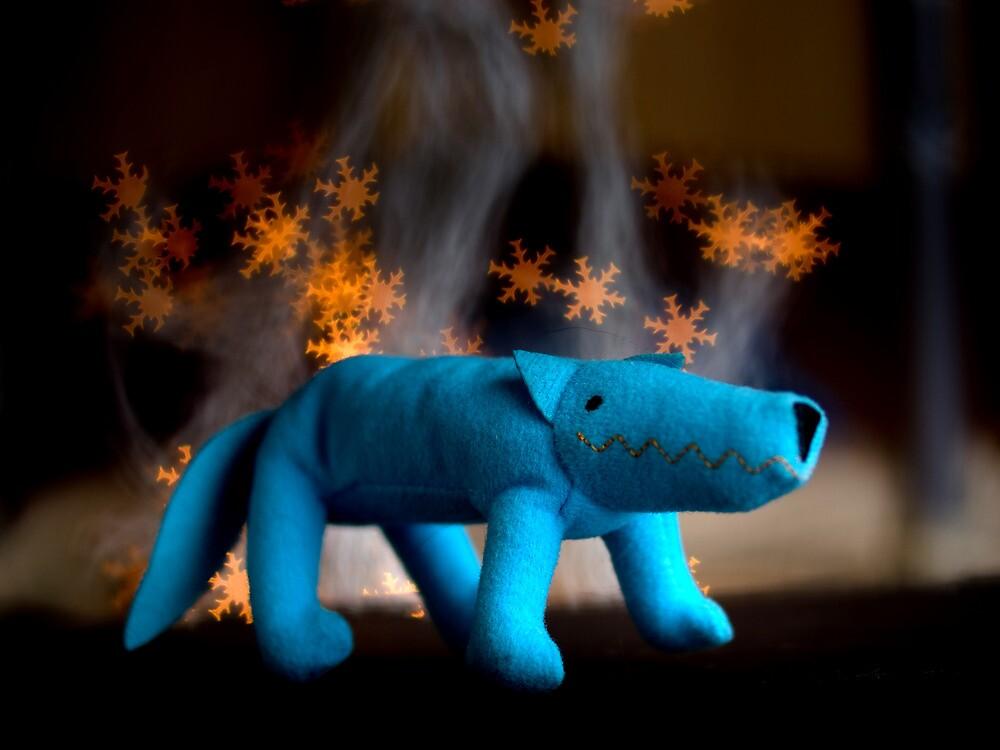 Blue fox by Leonov