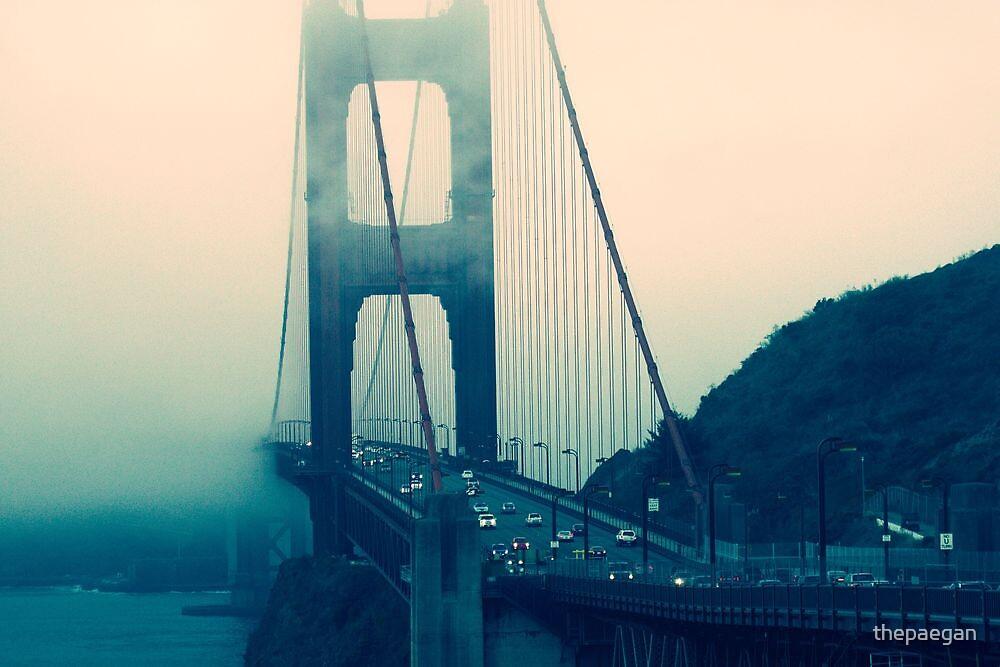 foggy gate by thepaegan