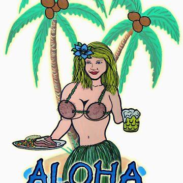 aloha hula girl by wpbmca
