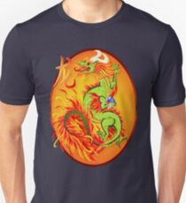 Year Of The Dragon Oval Unisex T-Shirt