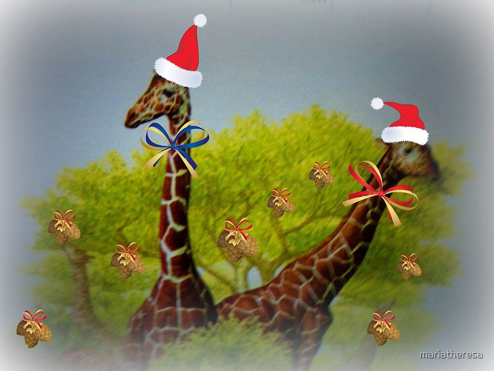 Even giraffes need a holiday... by mariatheresa