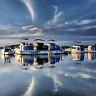 Blue Afternoon - Swansea NSW Australia by Bev Woodman