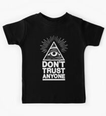 Don't Trust Anyone Kids Tee