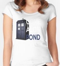 Come Along, Pond Women's Fitted Scoop T-Shirt
