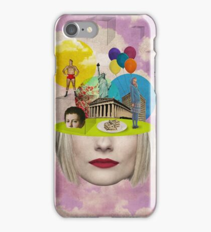 Modern Vintage Collection -- Uncertainty iPhone Case/Skin