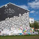 Reykjavik Graffiti IV by Louise Fahy