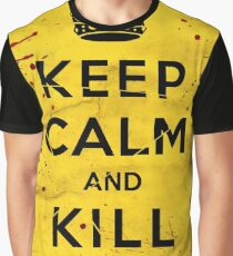 Keep Calm and Kill Bill Graphic T-Shirt