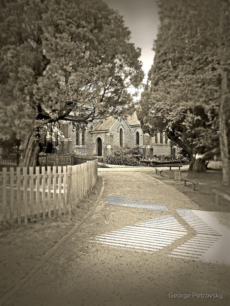 Path to St.Jude's, Bowral by George Petrovsky