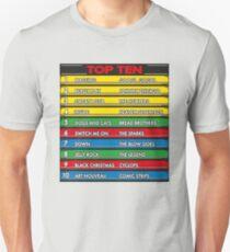 Disc Bootik Chart T-Shirt
