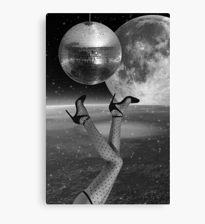 Black and White Collection -- Hangin' Over Canvas Print