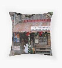 Lukenbach Texas - Waylan, Willie & The Boys Throw Pillow