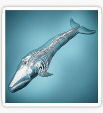 Newfoundland Whale Study Sticker