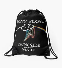 Floyd Pone - Dark Side of the Mare Drawstring Bag