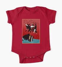 Red Song - Poster Art One Piece - Short Sleeve