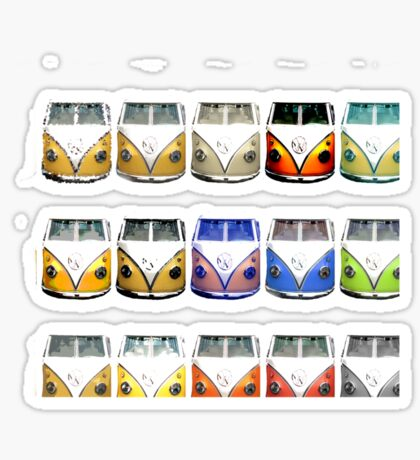 On Sale!!! VW Bus  iPhone case Sticker