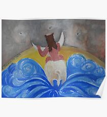 Le Taureau de Crete Poster