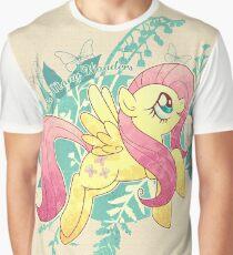 Flutter Nature Graphic T-Shirt