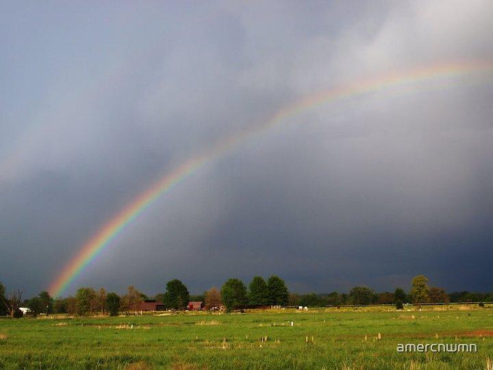 Rainbow by amercnwmn