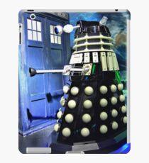 The TARDIS and a Dalek iPad Case/Skin