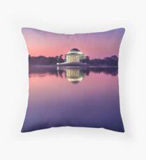 Jefferson Monument 2 Throw Pillow