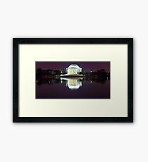 Jefferson Memorial 1 Framed Print
