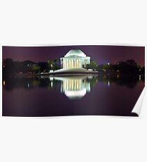 Jefferson Memorial 1 Poster