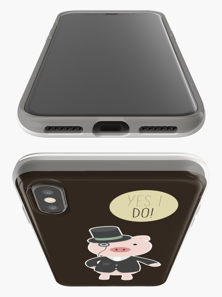 Alternate view of Yes I Do! - Groom iPhone Case & Cover