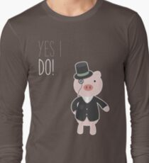 Yes I Do! - Groom Long Sleeve T-Shirt