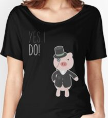 Yes I Do! - Groom Relaxed Fit T-Shirt