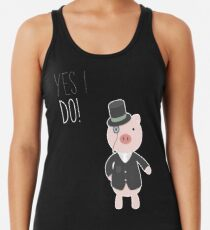 Yes I Do! - Groom Racerback Tank Top
