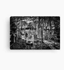 Simply Gorgeous ... Cemetery. Canvas Print