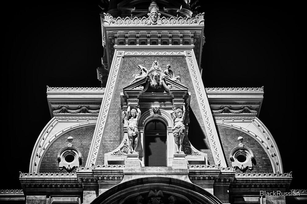 Philadelphia City Hall Detail. by BlackRussian