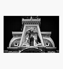 Philadelphia City Hall Detail. Photographic Print