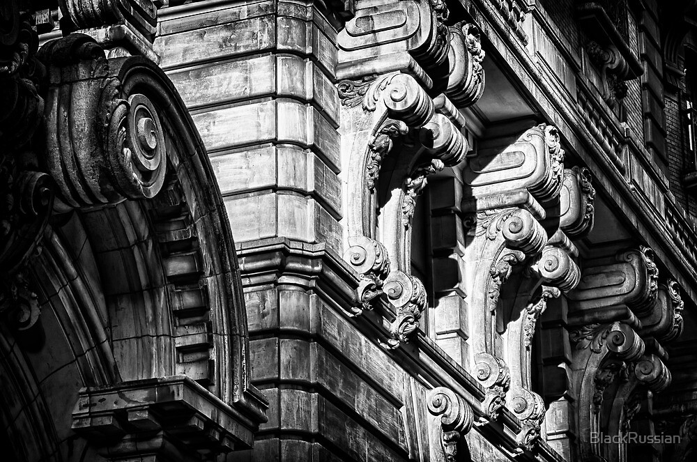 Ansonia Building Detail 2 by BlackRussian