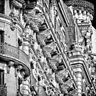 Ansonia Building Facade Detail 1 by BlackRussian