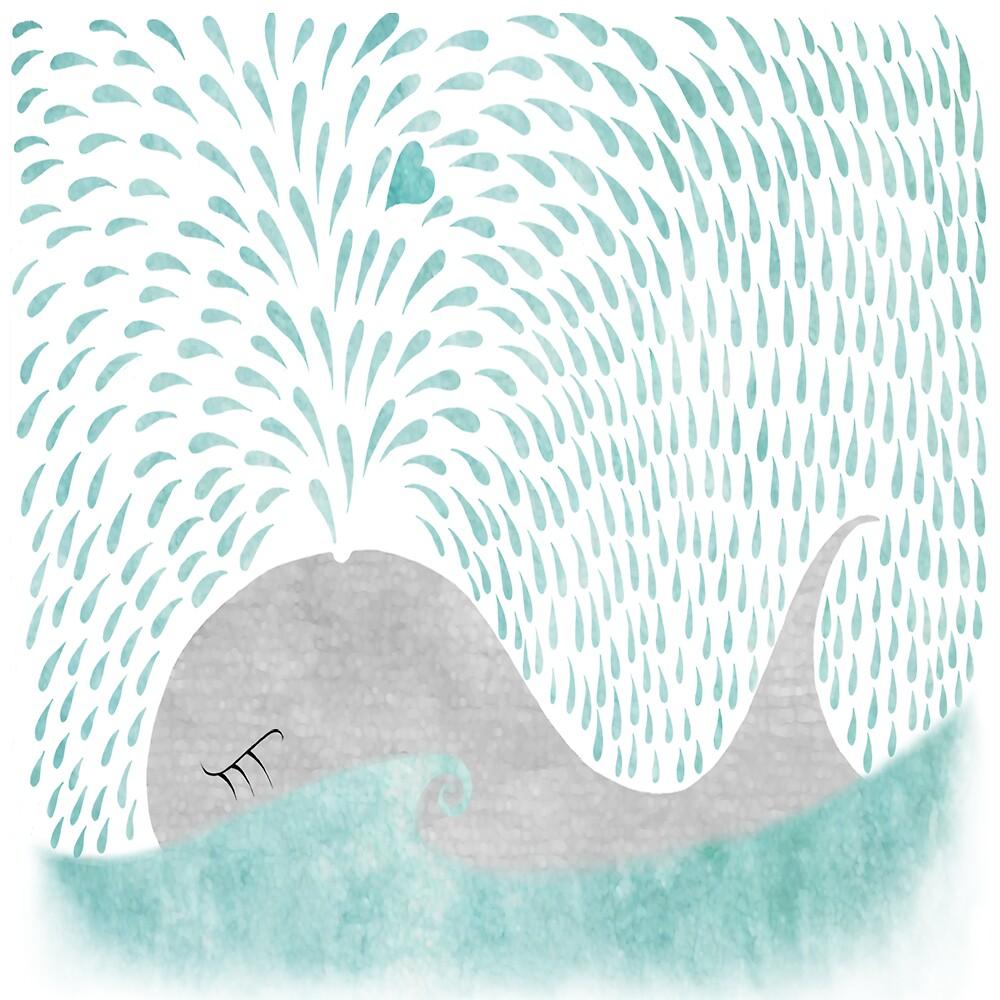 Whale Love by Alexandra  Waterman