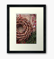 Christmas Wreaths Framed Print