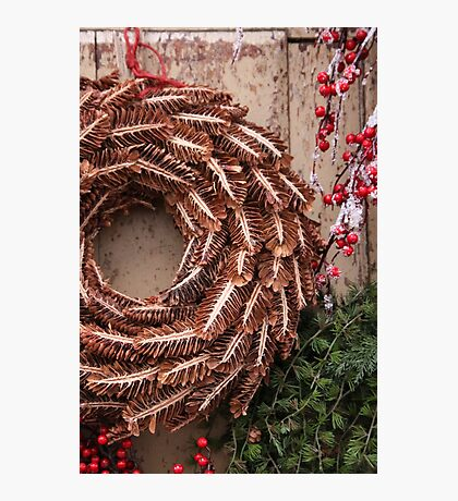 Christmas Wreaths Photographic Print