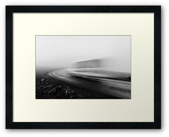 Misty Road by Zach Pezzillo