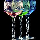 Colorful Glasses by Gert Lavsen