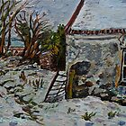 'Deserted Cottage, Ballyharry, County Antrim' by Laura Butler