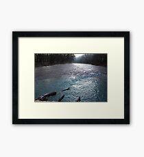 Winter Water Color ... Framed Print