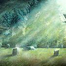 Stone circle .......... by Richie Dean