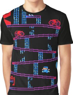 DONKEY TRON Graphic T-Shirt
